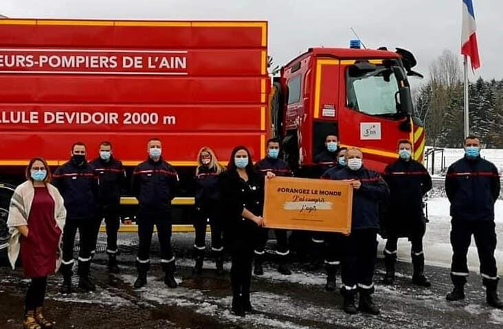 You are currently viewing Sapeurs pompiers   Orangez le monde