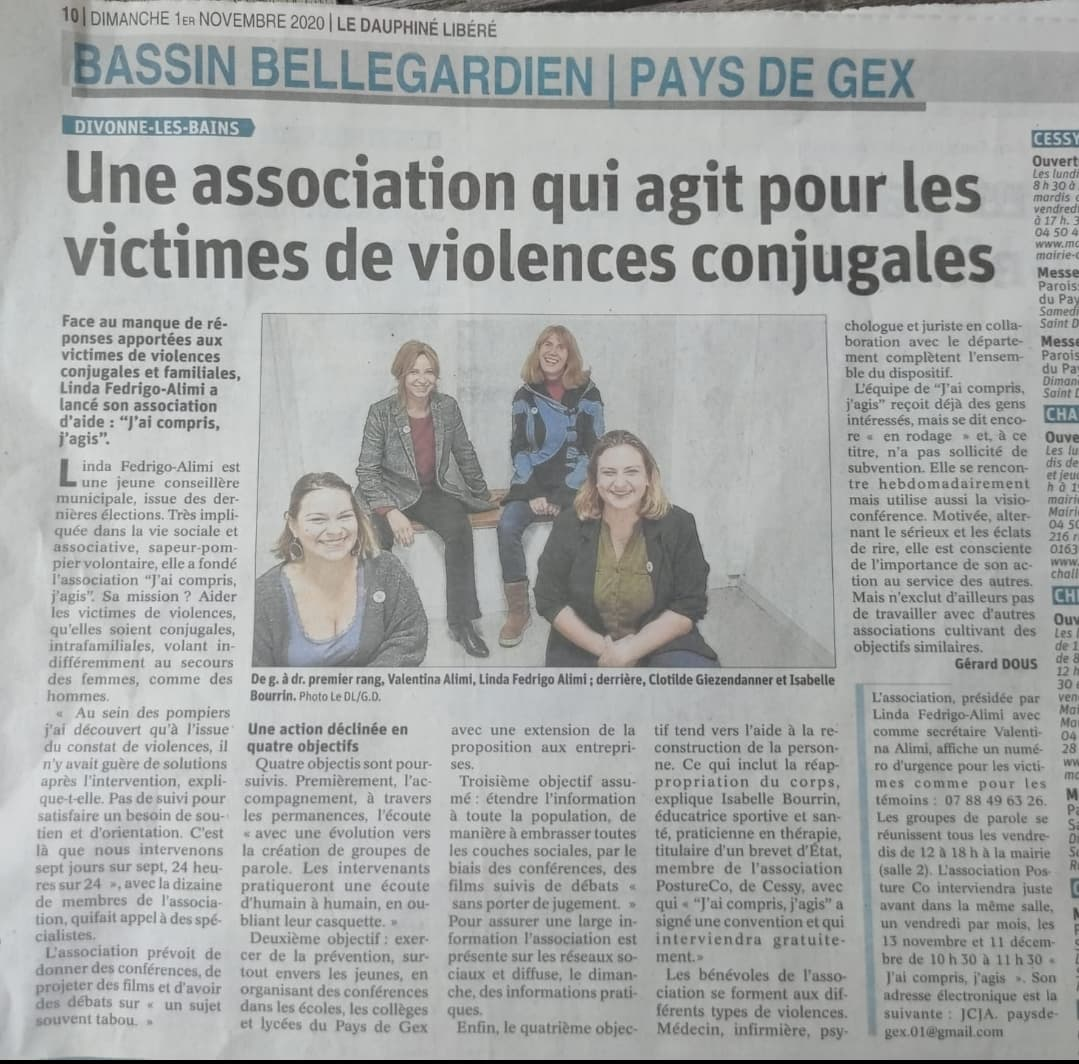 You are currently viewing Article de Presse